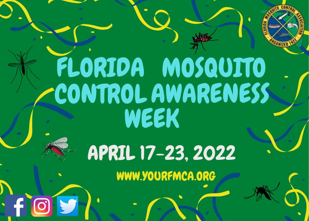 Florida Mosquito Control Awareness Week