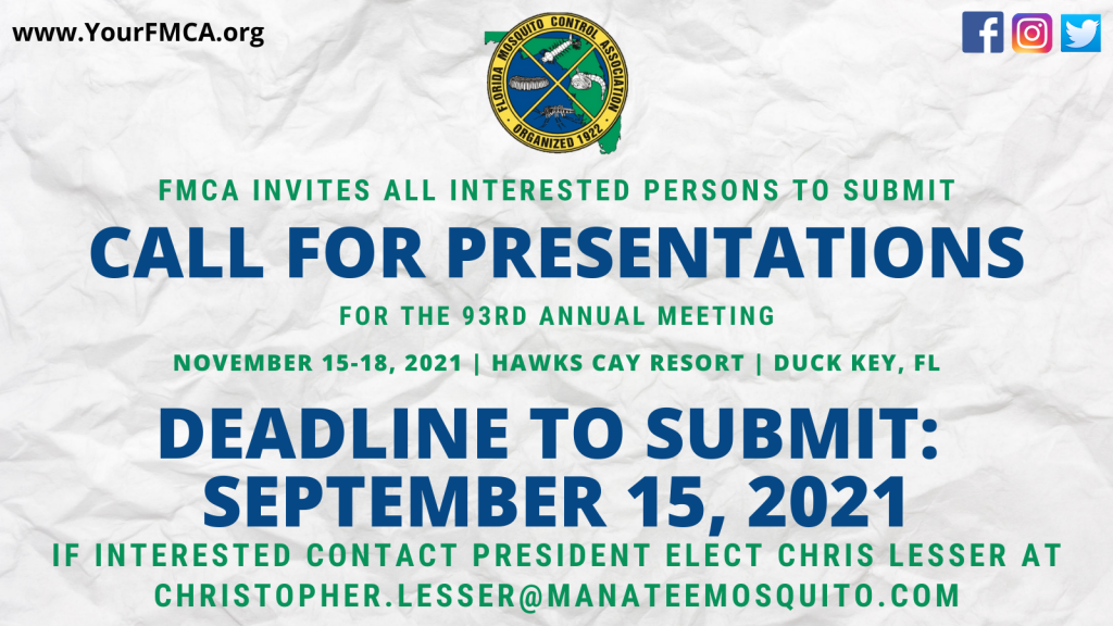 2021 Call for Presentations